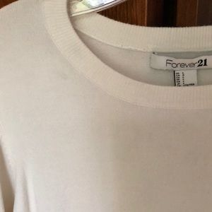 Forever 21 Sweaters - White and black forever 21 sweater